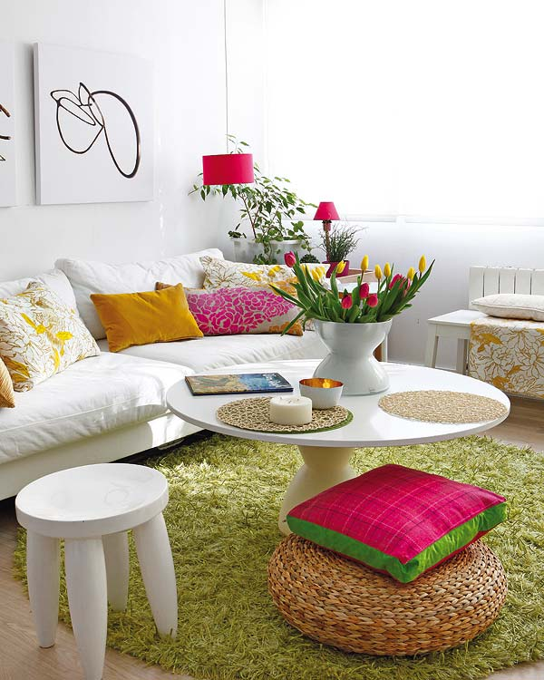 Beautiful Fresh Design In 40 Square Meter  Home Design
