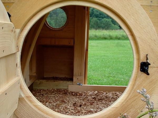 Hobbit Hole Chicken Coop Inspired By JRR Tolkeins The