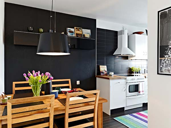 Cozy Small Apartment On The Edge Of Modern Style