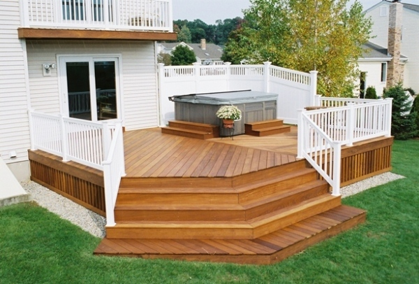 Unique Deck Design Ideas  Home Design Garden  Architecture Blog Magazine