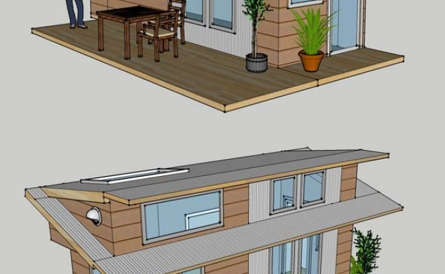 Tiny House Project Home Design Garden Architecture