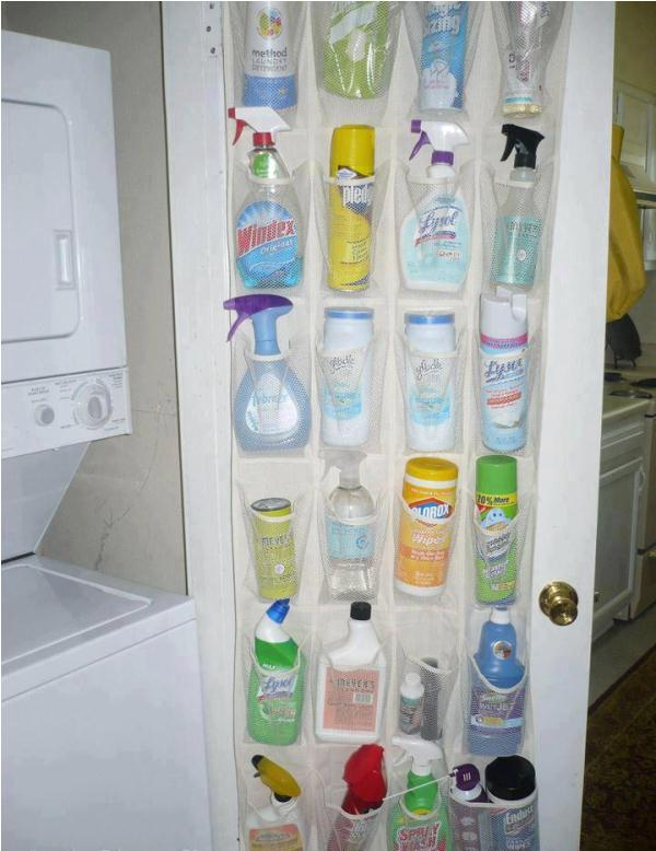 Storage Idea for Cleaning Supplies  Home Design Garden  Architecture Blog Magazine