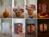 DIY Idea: Lego Lamp | Home Design, Garden & Architecture ...