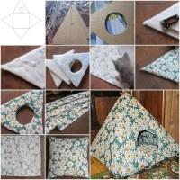 Easy DIY Cat Tent | Home Design, Garden & Architecture ...