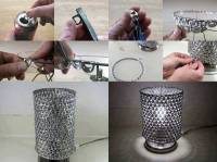 DIY: Unique Lamp by Using Soda Can Tabs | smiuchin