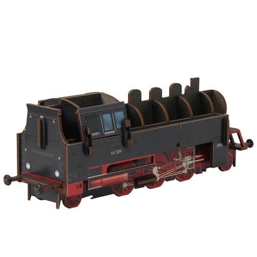 Stiftebox Lokomotive Rückseite
