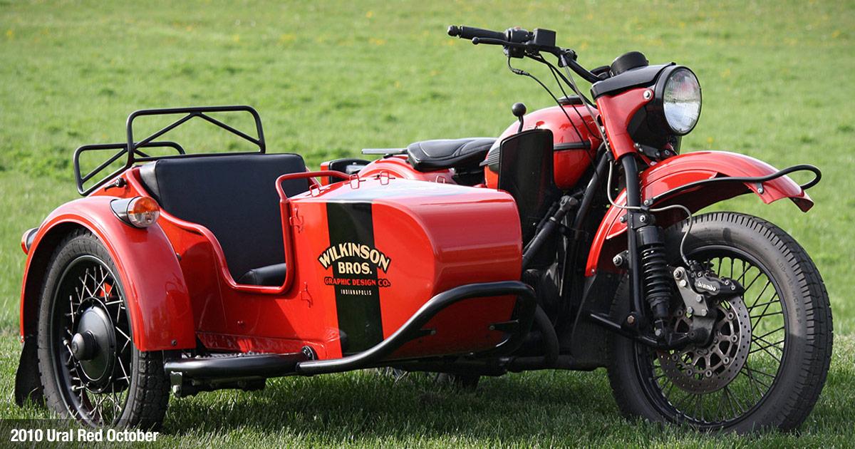 Wilkinson Brothers Ural Sidecar Motorcycle