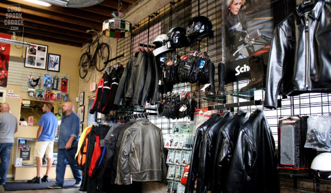 Ace Motorcycle & Scooter Co. Shop Goods