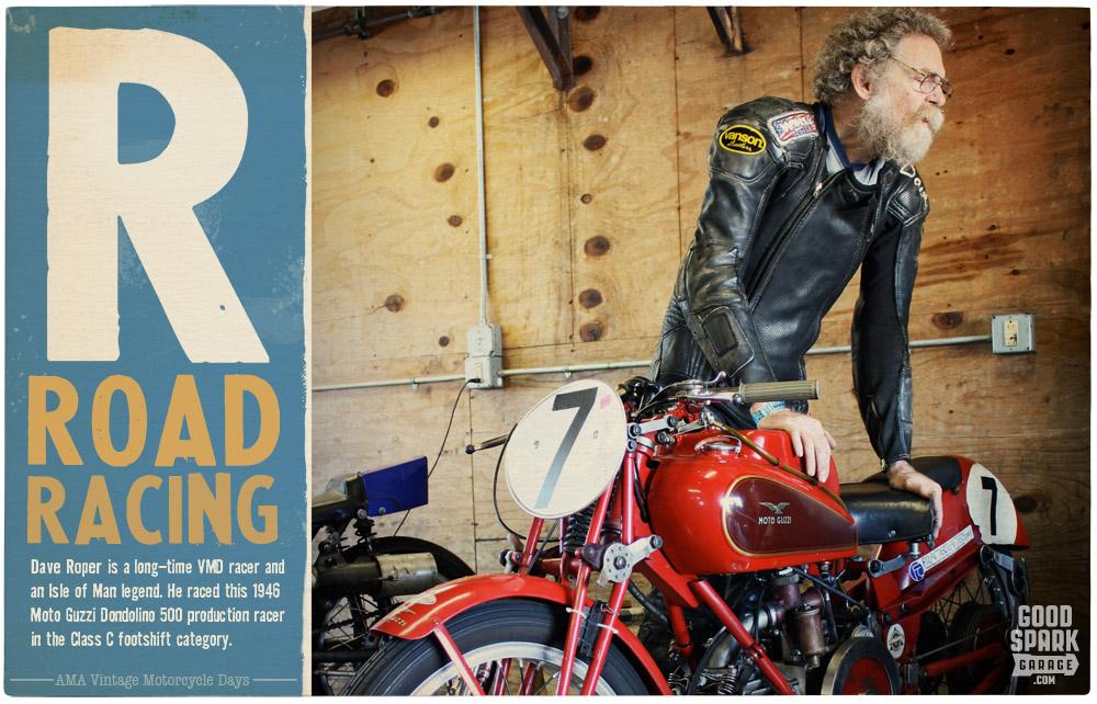 Dave Roper AMA Vintage Motorcycle Days