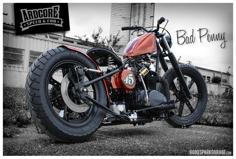 bad penny xs650 bobber by ardcore choppers - Xs650 Frame