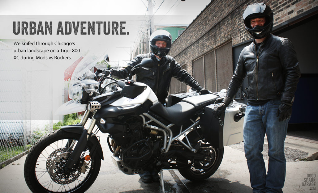 Triumph Motorcycles: Old and New in Chicago - Good Spark Garage