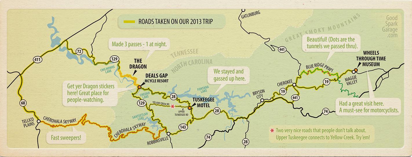 Deals Gap Area Map