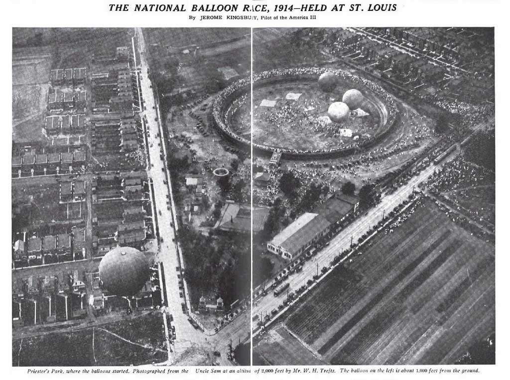 Priester's Park St. Louis Balloon Races