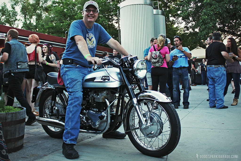Rockers Reunion Indy  Norton Atlas