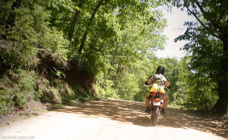 Darryl on the Trans America Trail