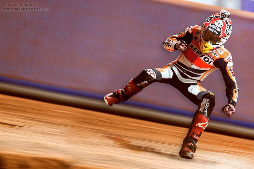 Marc Marquez - Invisible Motorcycle
