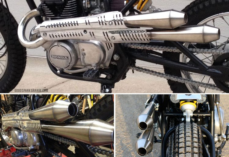 Scrambler pipe mods