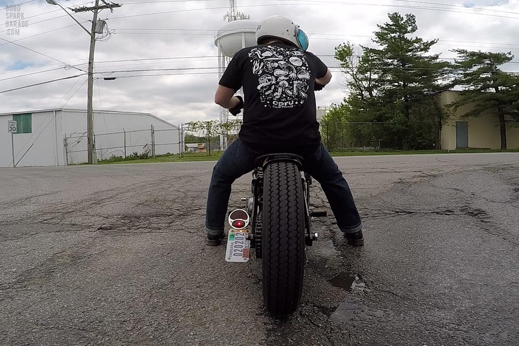 Moto Flash Tee :  Test Ride