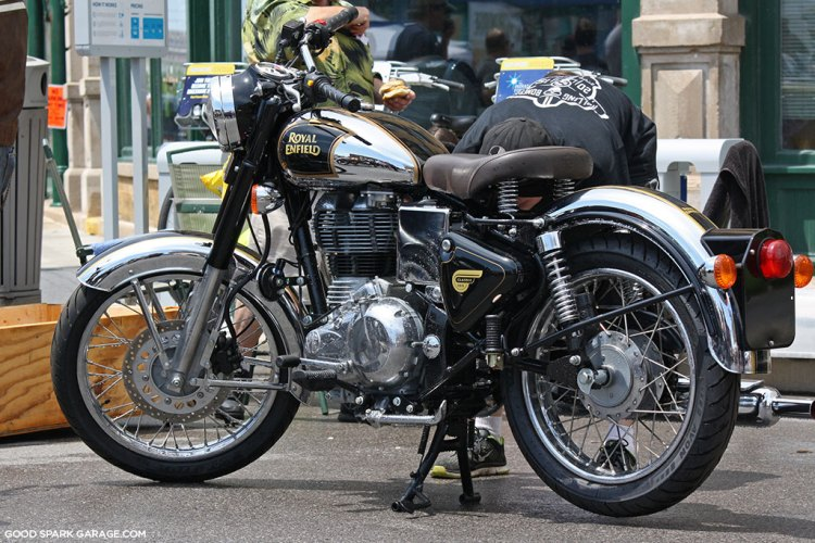 Royal Enfield at Rockers Reunion 2015