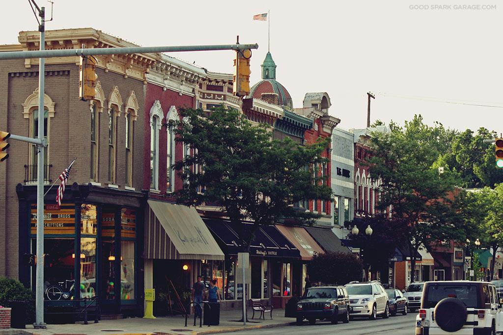 Goshen Indiana Downtown