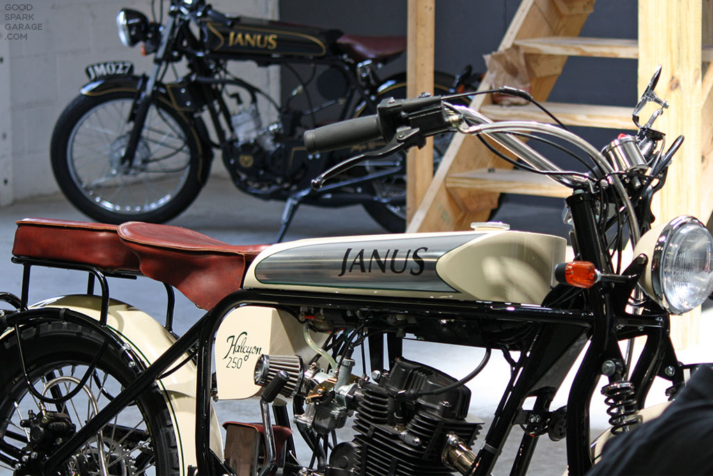 Janus Motorcycles Halcyon