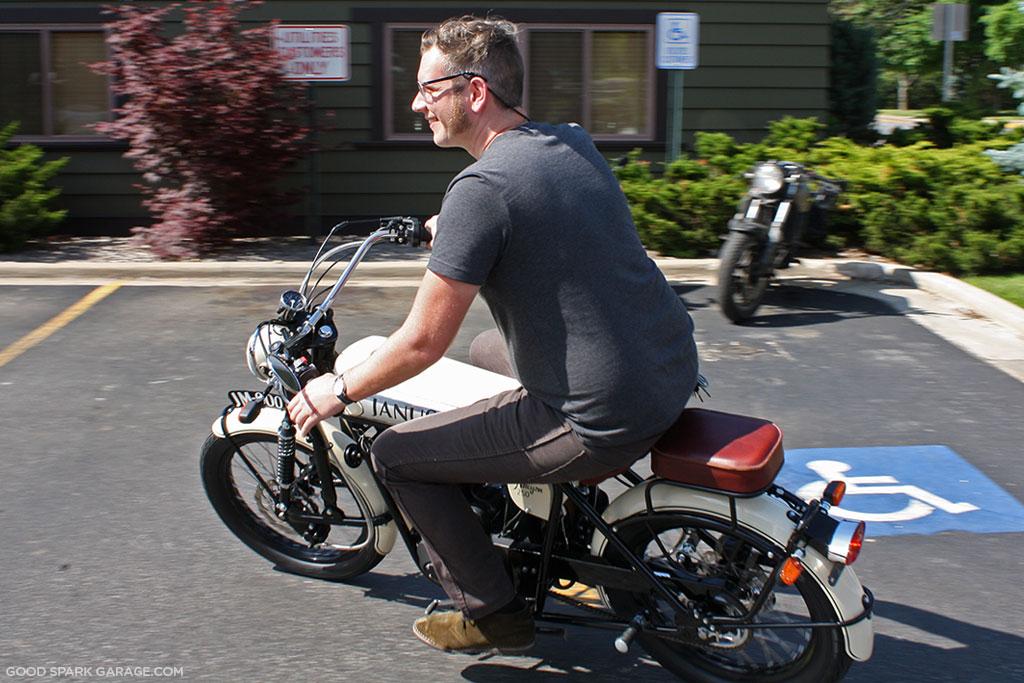Janus Motorcycles Richard Worsham