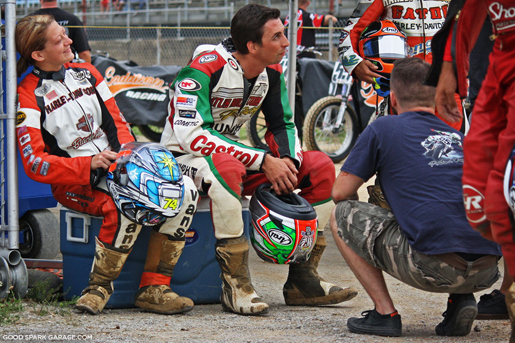 Indy Mile 2015 Flat Track Racers