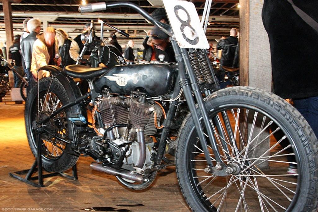 Vintage H-D Racer