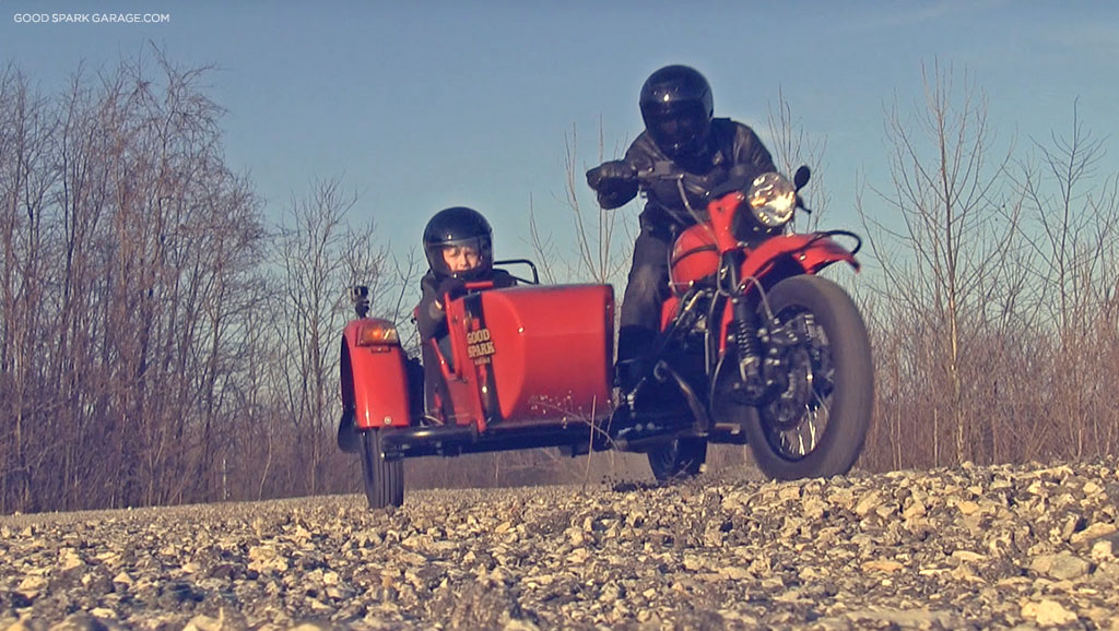 Ural Motorcycles Sidecar Kids by Good Spark Garage