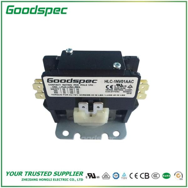 HLC-1NV01AAC(1P/25A/277VAC) DEFINITE PURPOSE CONTACTOR