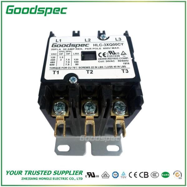 HLC-3XQ00CY(3P/20A/24VAC)DEFINITE PURPOSE CONTACTOR