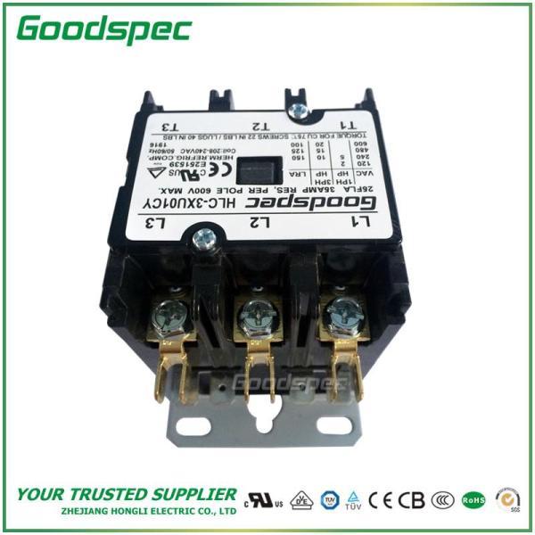 HLC-3XU01CY(3P/25A/208-240VAC)DEFINITE PURPOSE CONTACTOR