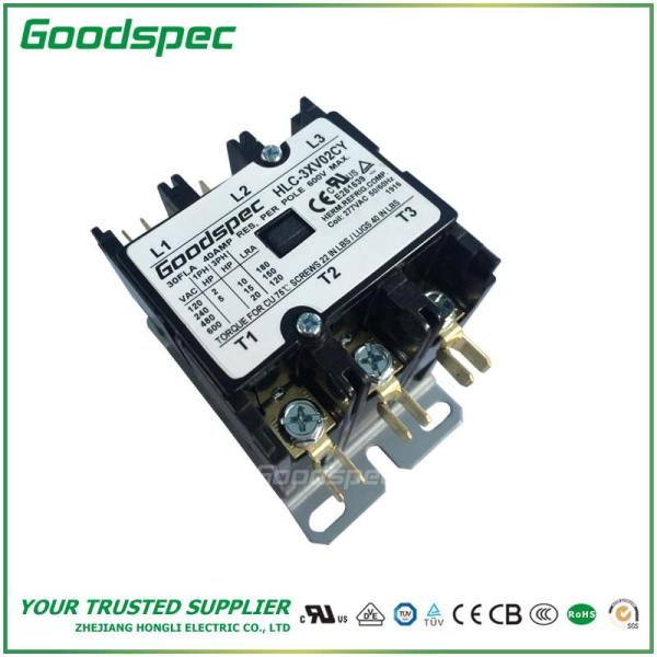 HLC-3XV02CY(3P/30A/277VAC)DEFINITE PURPOSE CONTACTOR