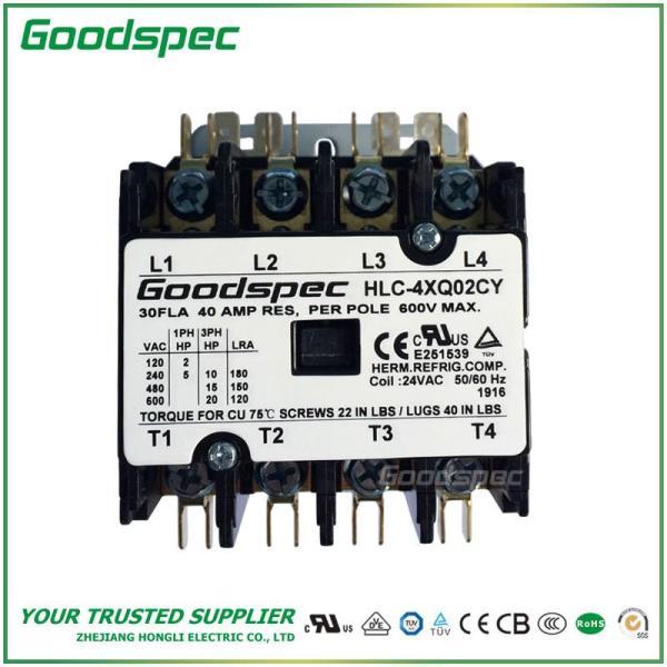 HLC-4XQ02CY(4P/30A/24V) DEFINITE PURPOSE CONTACTOR