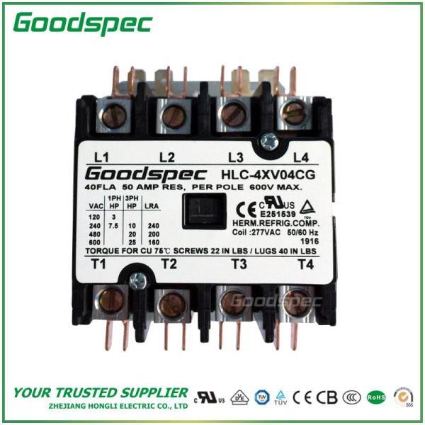 HLC-4XV04CG(4P/40A/277VAC)DEFINITE PURPOSE CONTACTOR