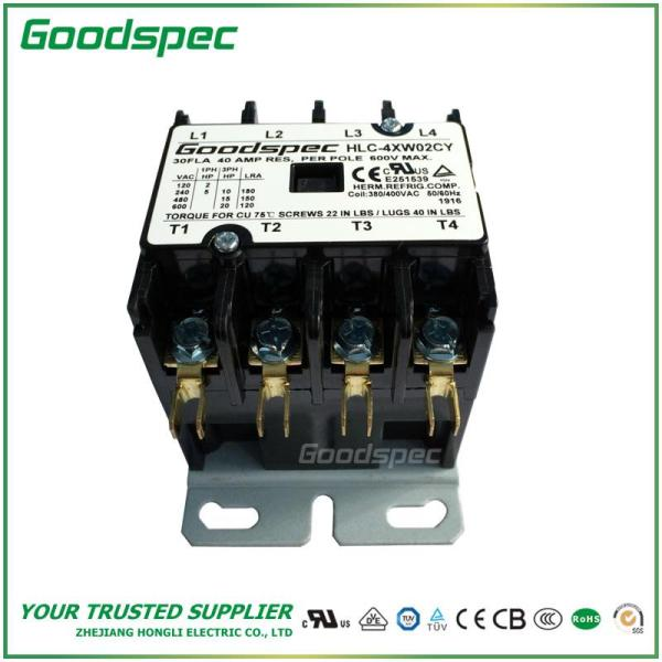 HLC-4XW02CY(4P/30A/380-400V)DEFINITE PURPOSE CONTACTOR