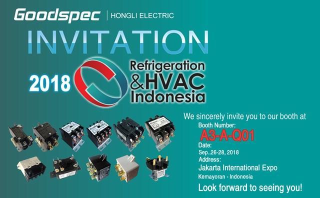 宏立电器将参展 RHVAC 2018 Indonesia