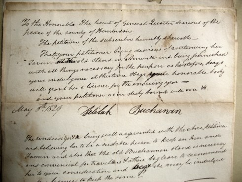 1829 Petition by Delilah Buchanan