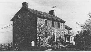 The Pauch Farmhouse, in 1983