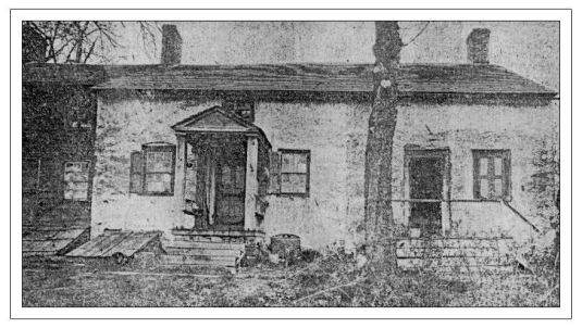 The old Van Dolah house in the 1920s