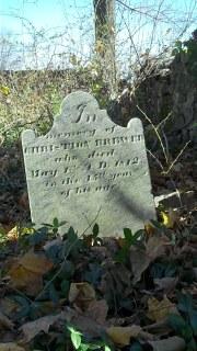 gravestone of Christian Brewer