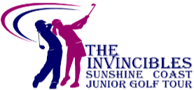 The Invincibles Junior Golf Tournament Sunshine Coast Logo