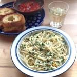 spaghetti with clam sauce 1200