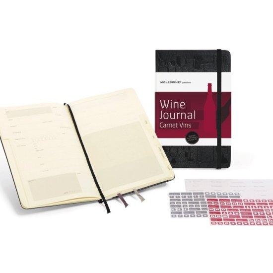 moleskin wine journal