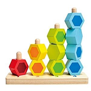 Colorful stacking toy