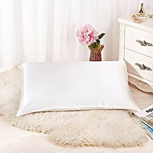 Natural silk pillowcase
