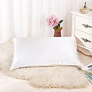 Natural silk pillowcase