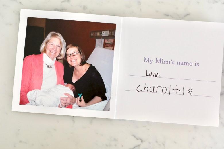 best grandparent photo gift