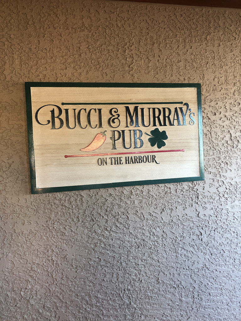 Bucci and Murray's Pub at Shelter Cove is surprisingly fantastic, though it seems like a bar.