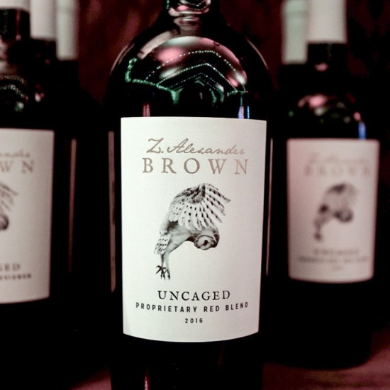 Z Alexander Brown Uncaged Red Blend